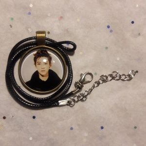 Kpop EXO Bronze Pendant Necklace